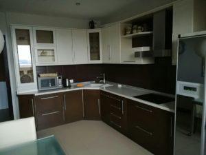 Кухня угловая венге фото 3