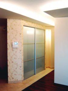 Встроенный шкаф купе гардеробная