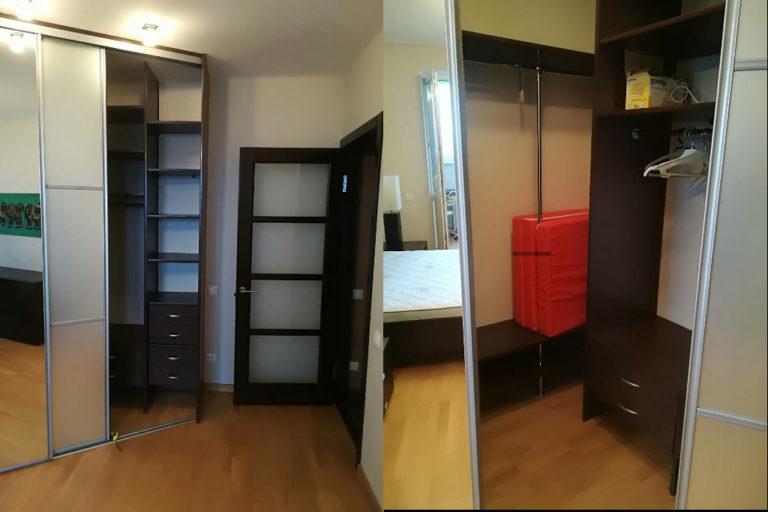 Шкаф-купе на заказ в спальню