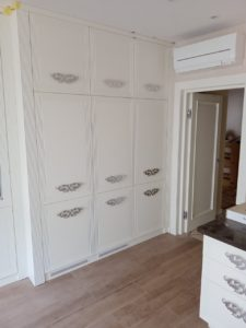 Кухня на заказ 270519-2 белая