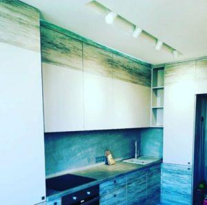 Кухня на заказ 0719-1 лофт